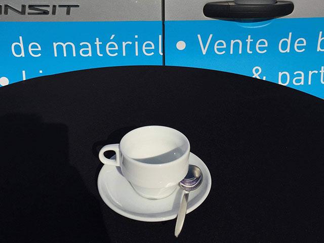 Prix de location 6,50€ TVAC, 0,20€/pièce cuillère à café TVAC